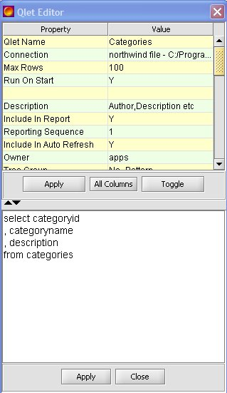 Access Dashboards | Microsoft Access database as source | InfoCaptor